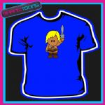 WEE MAN RETRO 80'S COOL CARTOON TSHIRT